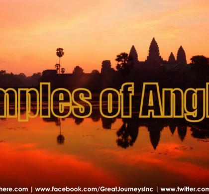 Exploring the Angkor Wat Temples Near Siem Reap in Cambodia
