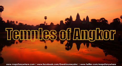 Exploring the Angkor Wat Temples Near Siem Reap in Cambodia