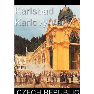 Karlsbad - Karlovy Vary - Travel Video. DVD. ABCD. 58 Minutes.