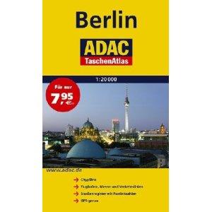 BERLIN Street Atlas, Germany.