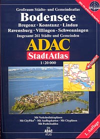 Bodensee Street ATLAS, Germany.