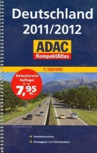 Germany Compact Tourist Road ATLAS.