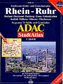 Rhein-Ruhr Street ATLAS, Germany.