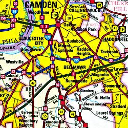 Camden County, New Jersey, America.