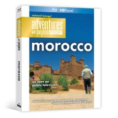Richard Bang's Adventures With Purpose: Morocco - Travel Video - Blu-ray Disc.