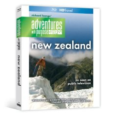 Richard Bang's Adventures With Purpose: New Zealand - Travel Video - Blu-ray Disc.
