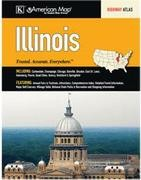 Illinois Road Atlas, America.