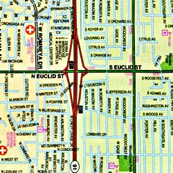 Anaheim and North Orange County, California, America.