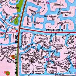 Fort Lauderdale and Broward County, Florida, America.