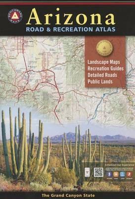 Arizona Road and Recreation Atlas, America.