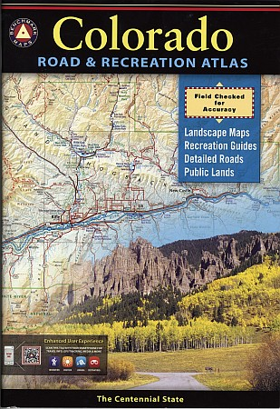 Colorado Road and Recreation Atlas, America.