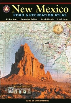 New Mexico Road and Recreation Atlas, America.