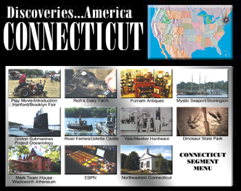 Discoveries...America: Connecticut - Travel Video.