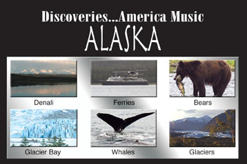 Discoveries...America Music, Alaska - Travel Video.