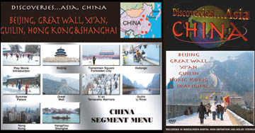 Discoveries...Asia: China - Beijing, Great Wall, Xi'an, Guili, Hong Kong and Shanghai Travel Video.