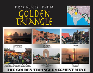 Discoveries: India, The Golden Triangle Travel Video.