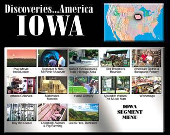 Discoveries...America, Iowa.