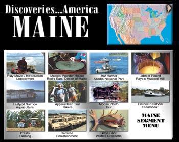 Discoveries...America, Maine.