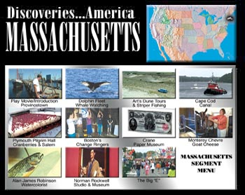 Discoveries...America, Massachusetts.