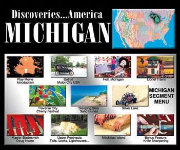 Discoveries...America, Michigan.