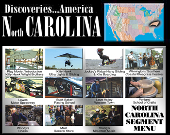 Discoveries...America, North Carolina.