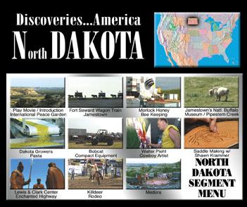 Discoveries...America, North Dakota.