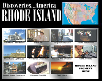 Discoveries...America: Rhode Island - Travel Video.