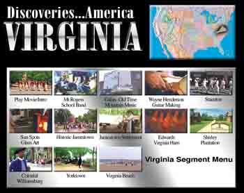 Discoveries...America, Virginia.