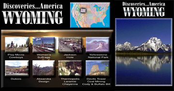 Discoveries...America, Wyoming.