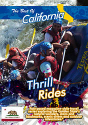 The Best of California Thrill Rides - Travel Video.