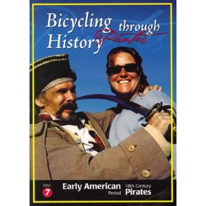 Bicycling Through History 18th Century Pirates - Travel Video.