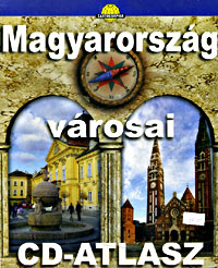 Hungarian Cities Street ATLAS with CD-ROM, Hungary.