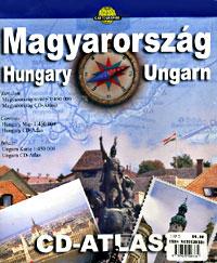 Hungary Tourist Road ATLAS with CD-ROM, Hungary.
