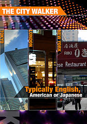 Typically English, American or Japanese - Travel Video.