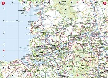 Great Britain Tourist Road ATLAS.