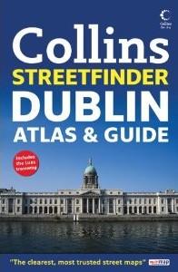 DUBLIN Street ATLAS, Ireland.