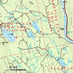 Arkansas, Road, Topographic, and Shaded Relief Tourist ATLAS and Gazetteer, America.