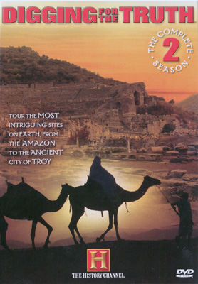 The Complete Season 2 Disc 3 The Real Queen of Sheba, Troy of Gods and Warriors, The Da Vinci Code Bloodlines and Giants of Patagonia - Travel Video.