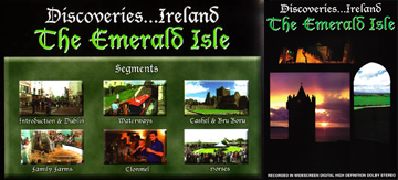 Discoveries Ireland: The Emerald Isle - Travel Video VHS.