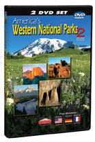 America's Western National Parks 2: Second Edition, 2 DVD Set - Travel Video.