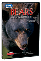 Bears! of Our National Parks - Travel Video - DVD.