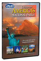 Discover America & It's National Parks - Travel Video - DVD.