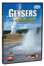 Geysers of Yellowstone - Travel Video - DVD.