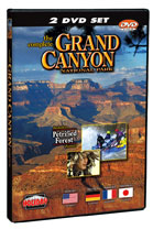 The Complete Grand Canyon National Park - 2 DVD Set.