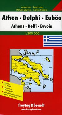 1. Athens, Delphi, and Euboea, Regions.