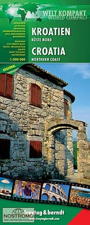 Croatia North: Istria, Zagreb, and Slavonia Region.