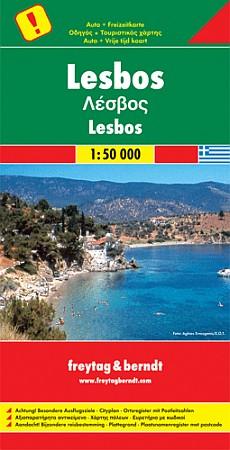 Greece: Lesvos Regions.