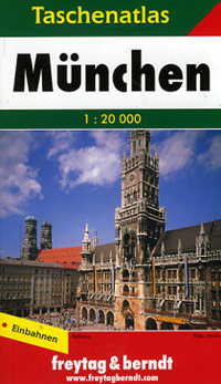 MUNICH Pocket Street ATLAS, Germany.