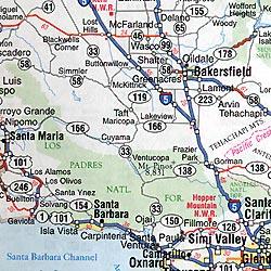 North America Road ATLAS for Canada, America, and Mexico.