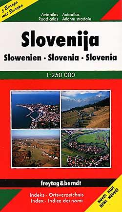 Slovenia Tourist Road Atlas.